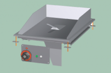RM GASTRO FTLD-64ETS  Plotna grilovací hladká chrom