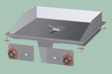 RM GASTRO FTLRD-66ETS  Plotna grilovací komb. chrom