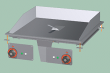 RM GASTRO FTRD-66ET  Plotna grilovací rýhovaná