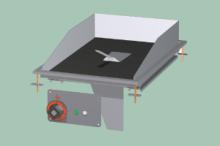 RM GASTRO FTCD-64EM   Plotna grilovací sklokeramická
