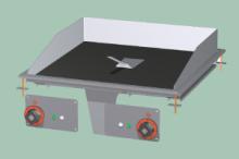 RM GASTRO FTCD-66ET  Plotna grilovací sklokeramická