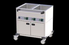 BMPD-2120 CSH Vodní lázeň opláštěná vyhřívaná 2xGN1/1 2200W