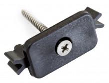 Příchytka G21 terasového prkna k nosníku terasových prken s ocelovým šroubem