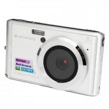 Digitální fotoaparát Agfa Compact DC 5200 Silver + Sandisk SDHC 16GB karta - předváděcí kus