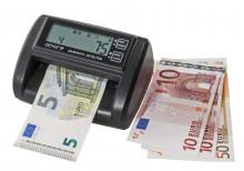 Detektor padělků Genie MD212-A, počítačka a kontrola pravosti EUR bankovek