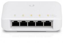 Switch Ubiquiti Networks USW-FLEX UniFi  Flex, 5x GLan, PoE-In, 4x PoE-Out