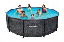 Bazén Marimex FLORIDA 3,66 x 1,22 m RATAN bez filtrace