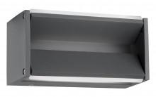 Svítidlo Nova Luce TWIN WALL GREY nástěnné, IP 54, 8 W