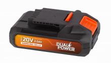 Baterie Powerplus POWDP9021 20 V Li-Ion 2 Ah  Samsung  články