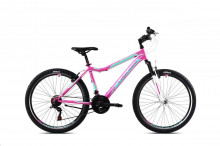 """Horské jízdní kolo Capriolo DIAVOLO DX 600 FS 26""""/18HT pink-turq. 15"""" (2021)"""