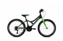 Horské jízdní kolo Capriolo DIAVOLO 400/18HT black green (2020)