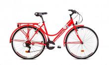 """Trekové jízdní kolo Capriolo TOUR-SUNRISE Lady 28""""/18HT červená"""