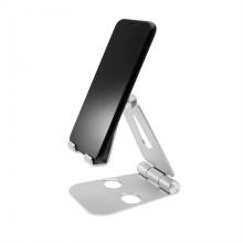 Stojánek FIXED Frame PHONE na stůl pro mobilní telefony, hliníkový stříbrný