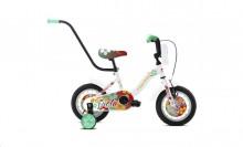 """Dětské jízdní kolo Capriolo BMX 12""""HT VIOLA white-red-turqouise"""