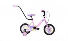 """Dětské jízdní kolo Capriolo BMX 12""""HT VIOLA pink-white"""