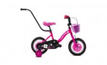 """Dětské jízdní kolo Capriolo BMX 12""""HT VIOLA light pink-white"""