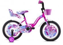 """Dětské jízdní kolo Capriolo BMX 16"""" VIOLA pink-white"""