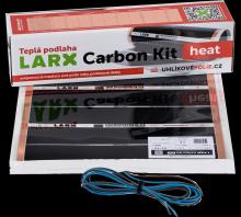 LARX Carbon Kit heat 144 W, topná fólie pro svépomocnou instalaci, délka 1,6 m, šířka 0,5 m
