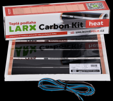LARX Carbon Kit heat 180 W, topná fólie pro svépomocnou instalaci, délka 2,0 m, šířka 0,5 m