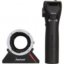 Aputure dálkově ovládaný DEC adaptér pro objektivy Canon na úchyt MFT