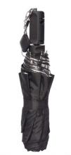 Papaler selfie slunečník a deštník - černý/odrazná plocha