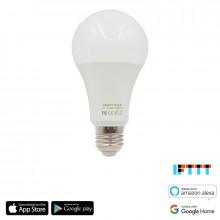 iQtech SmartLife WB009, Wi-Fi LED RGBW žárovka E27, 110-260 V, 9 W, bílá/barevná