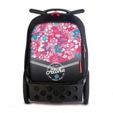Školní taška na kolečkách Nikidom Roller Aloha