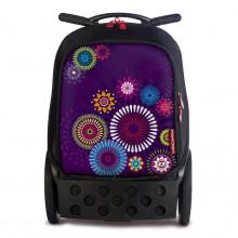 Školní taška na kolečkách Nikidom Roller Mandala