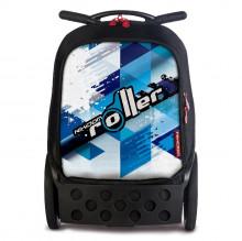 Školní taška na kolečkách Nikidom Roller Cool Blue