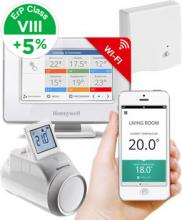 Honeywell Evohome Starter Set 1 CZ, Evohome Touch WiFi + 1x termohlavice HR92 + BDR91, +5% ErP 8