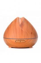 Aromacare Mandala Light, ultrazvukový aroma difuzér, světlé dřevo, 400 ml