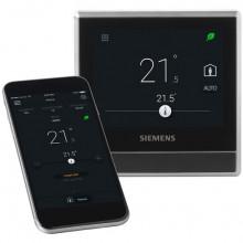 Siemens RDS110 Chytrý termostat s čidlem vlhkosti a kvality vzduchu VOC
