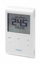 Siemens RDE100.1 Programovatelný digitální prostorový termostat, drátový