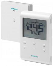 Siemens RDE100.1RFS Programovatelný digitální prostorový termostat, bezdrátový