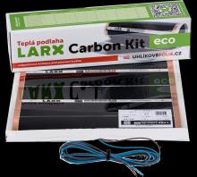 LARX Carbon Kit eco 80 W, topná fólie pro svépomocnou instalaci, délka 1,6 m, šířka 0,5 m