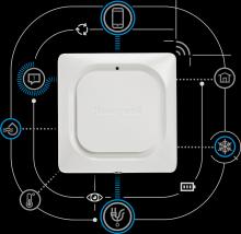 Honeywell Home Lyric W1 Wi-Fi detektor vody a námrazy W1KE, bateriový, bezdrátový