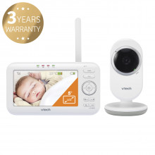 """VTech VM5252, dětská video chůvička s displejem 5"""""""