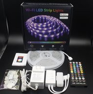 iQtech SmartLife WL007 Music, Wi-Fi LED pásek RGBW 150 LED, 5 m