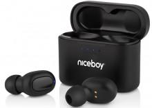 Sluchátka Niceboy HIVE Podsie 2021, černá